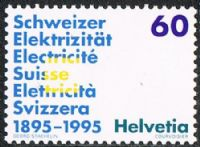 Switzerland SG1293 1995 Publicity 60c unmounted mint